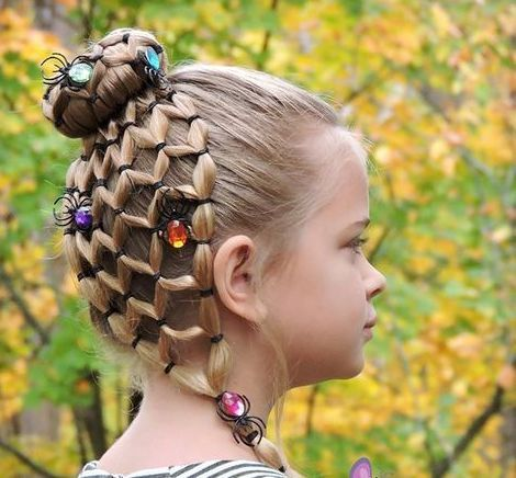 Hairstyle Braided Hairstyle Children Kids For School Little Girls Children S Hairstyles For Long Hair Cute Child Ch Wacky Hair Crazy Hair Days Kids Hairstyles