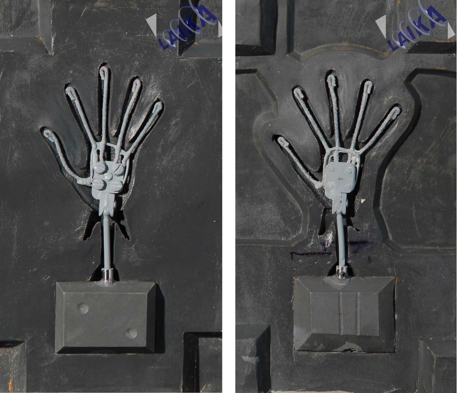 Smart Hand Armature For Silicone Casting Stopmotionanimation
