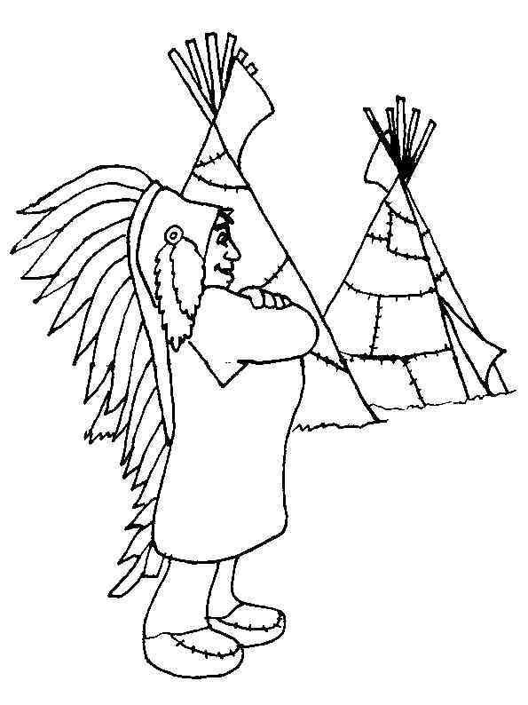 indianer 21 ausmalbilder | coloring pages, free adult