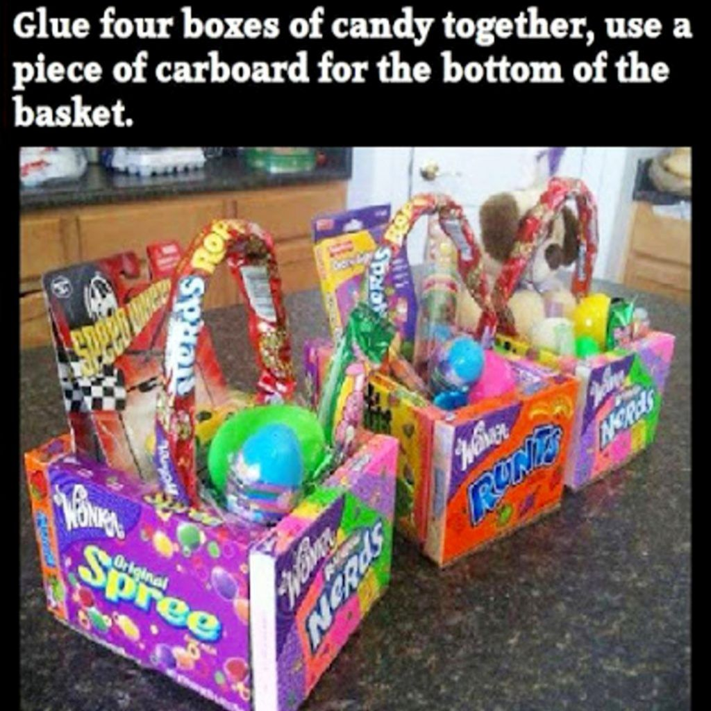Easter diy unique and creative diy easter ideas for the whole cute and unique easter basket ideas negle Gallery
