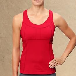PR Tank | Athleta - only tank i've tried with a built in bra supportive enough for my DDs