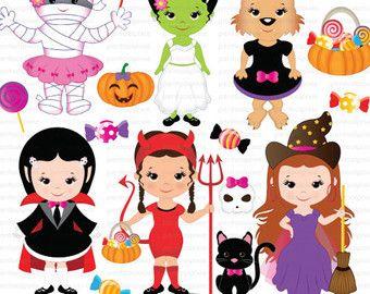 40+ Halloween Clipart Cute Frankenstein