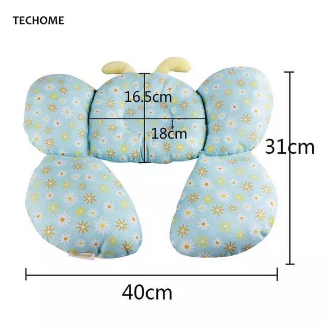 Bee Form Baumwolle Baby Gestaltung Kissen Kinderwagen Ausrüstung u-förmigen nackenkissen Baby Infant Hals Pflege Zubehör Dekorative Kissen