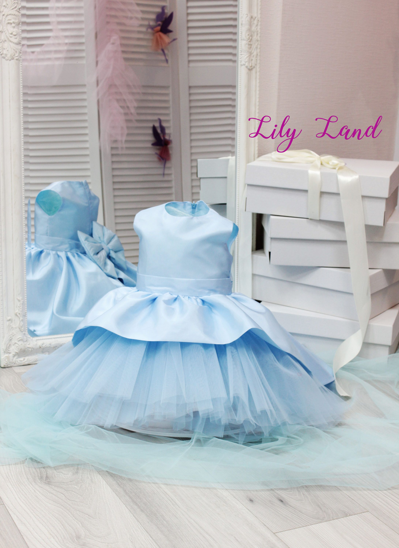 Blue dress dress blue tulle party dresses 6 9 12 18 24