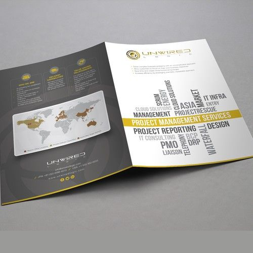 company brochure for consulting company start up brochure contest