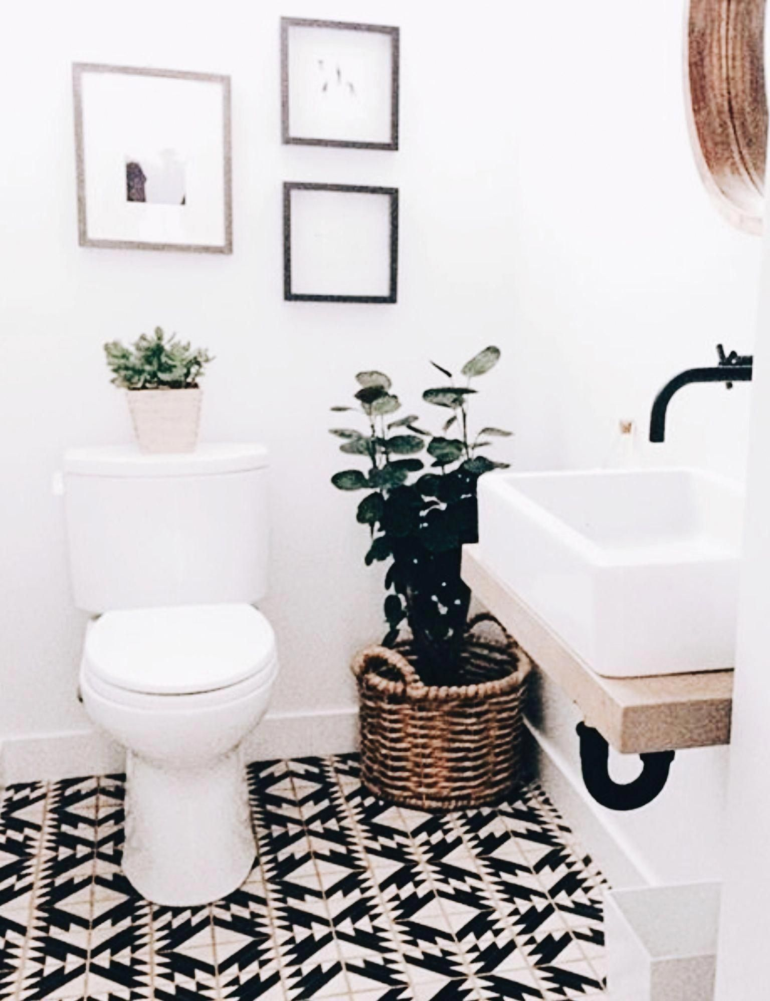 Homeflooringideas Bohobathroom In 2020 Minimalist Bathroom Bathroom Floor Tiles Amazing Bathrooms