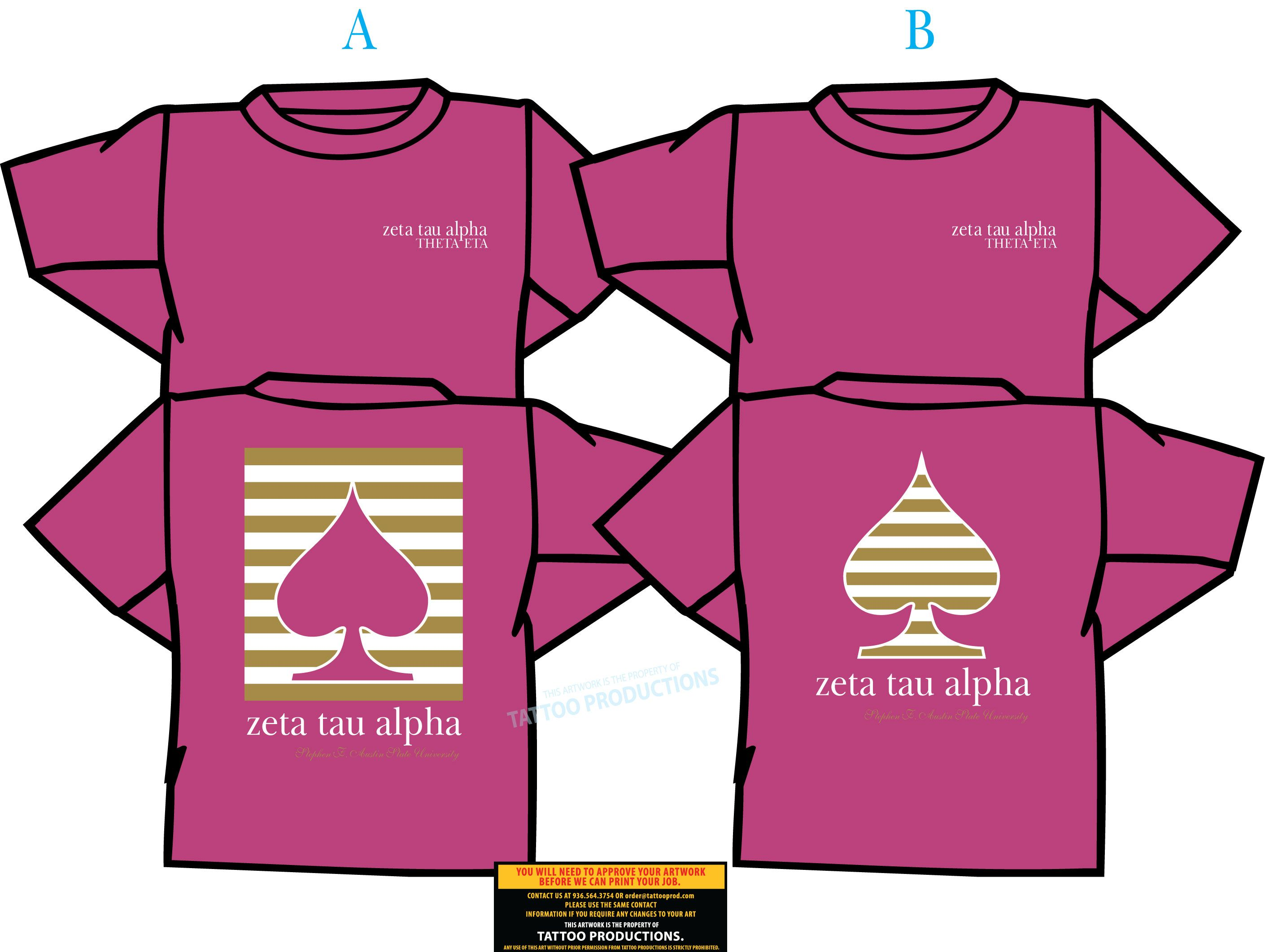 T shirt design job - Explore Zeta Tau Alpha Shirt Designs And More