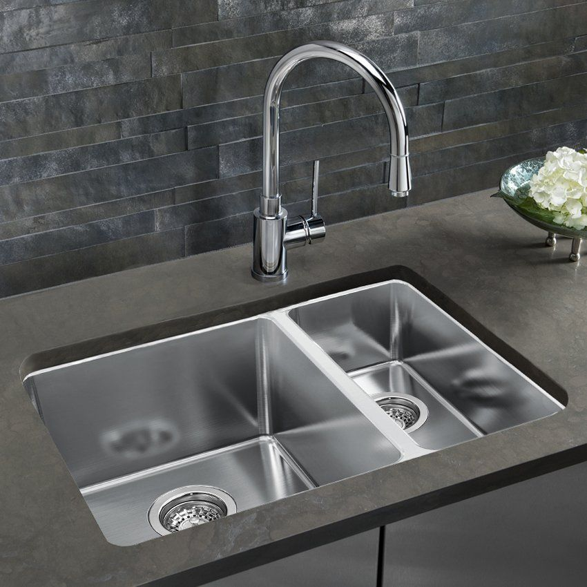 Marvelous BLANCO SOP1355 Andano Offset Bowls Undermount Kitchen Sink | Loweu0027s Canada Good Looking