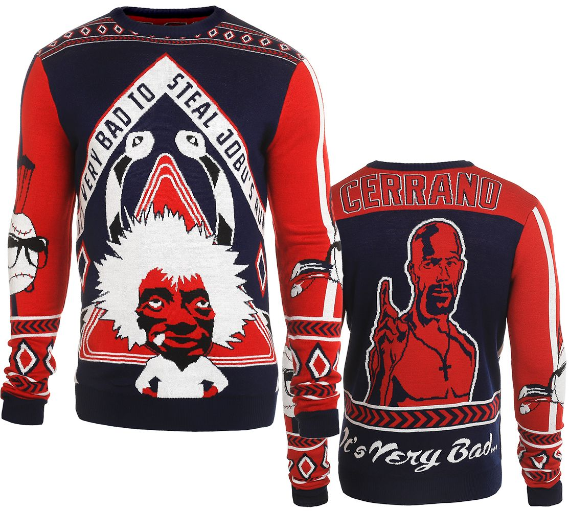 finest selection 2a100 b2329 Jobu/Pedro Cerrano (Major League) Ugly Sweater by Forever ...