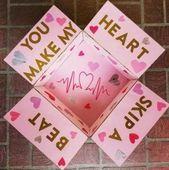DIY Geschenke Valentinstag für ihn Care-Pakete 40 Ideen für 2019, #care #Day #DIY #Gifts #id ...