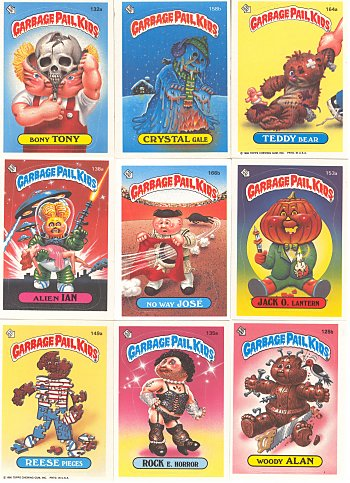 Garbage Pail Kids Why Did Our Parents Let Us Play With These And Why Did We Love Them Garbage Pail Kids Early 90s Toys My Childhood Memories