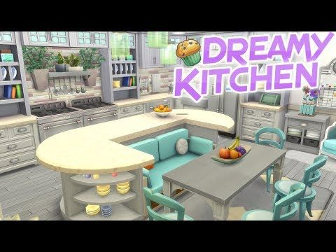 The Sims 4 Parenthood DREAMY LARGE KITCHEN