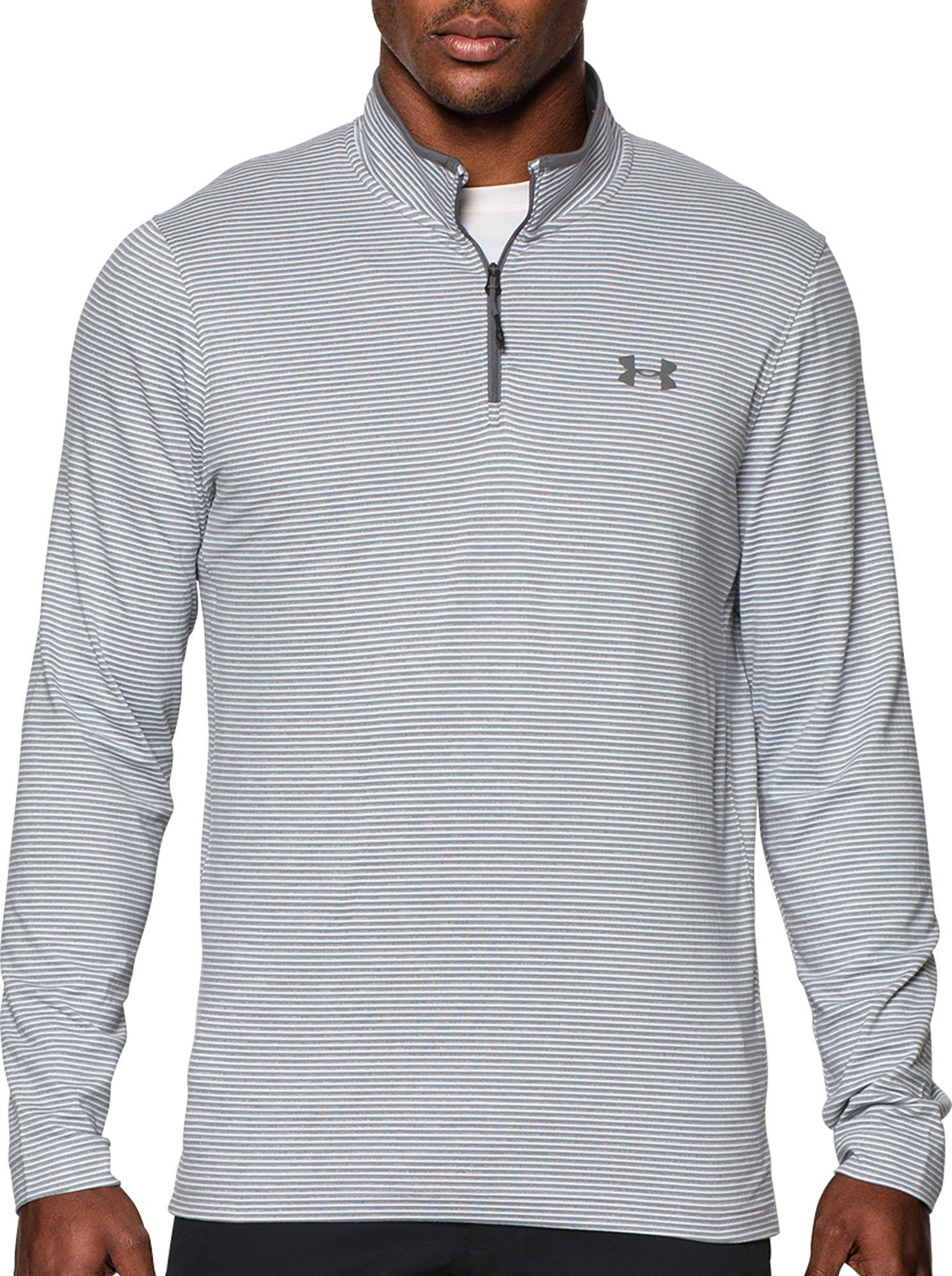 NWT Under Armour Men/'s ColdGear Compression Mock Long Sleeve Shirt Gold Size L