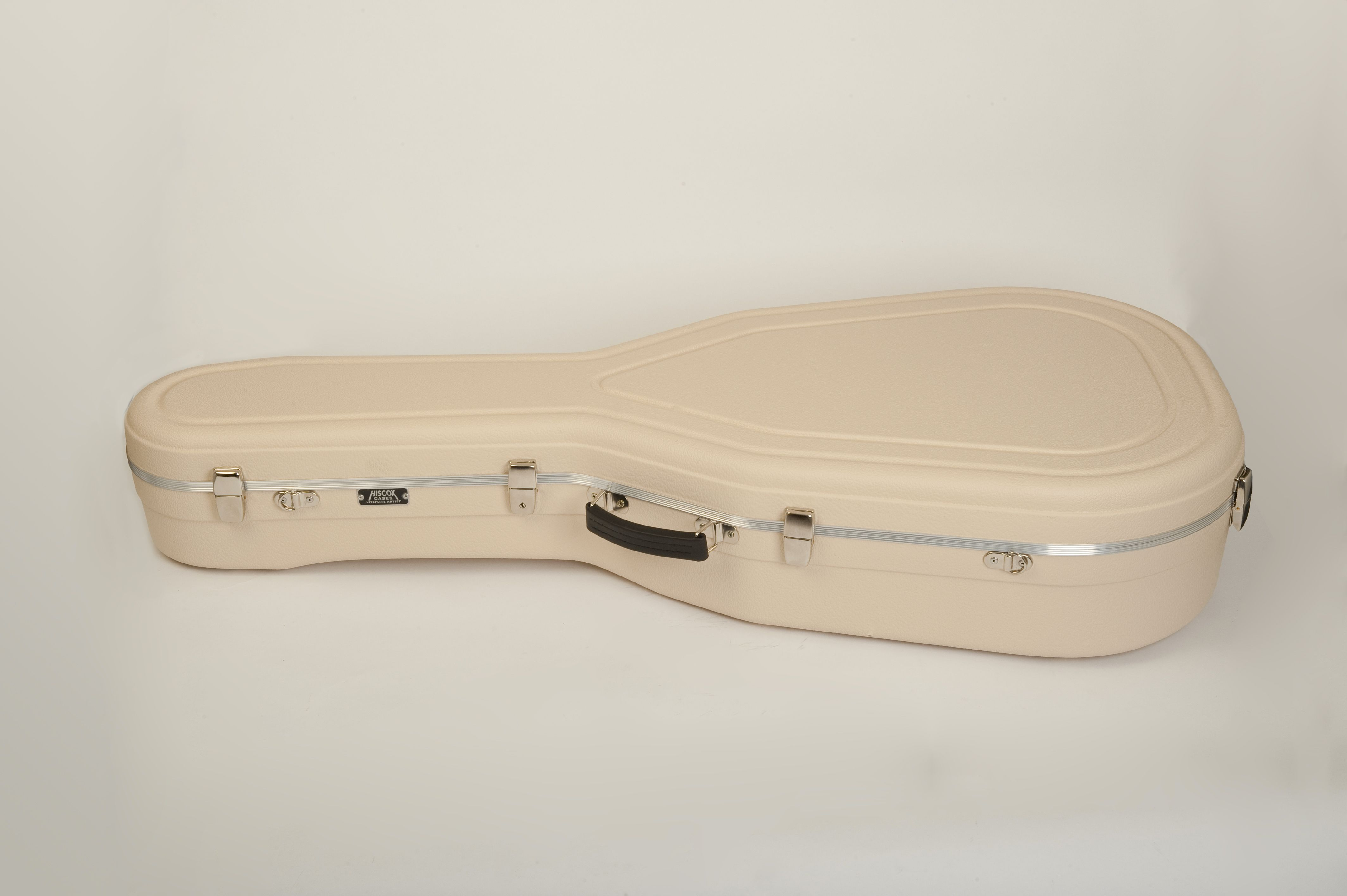 Artist Jumbo Acoustic Style Guitar Case Hiscox Cases Hard Shell Case Protect Your Guitar Ivory Guitar Case Acoustic Guitar Case Case