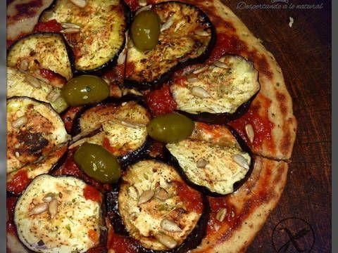 Muy ricas pizzas saludables Receta de Despertando a lo natural - Cookpad