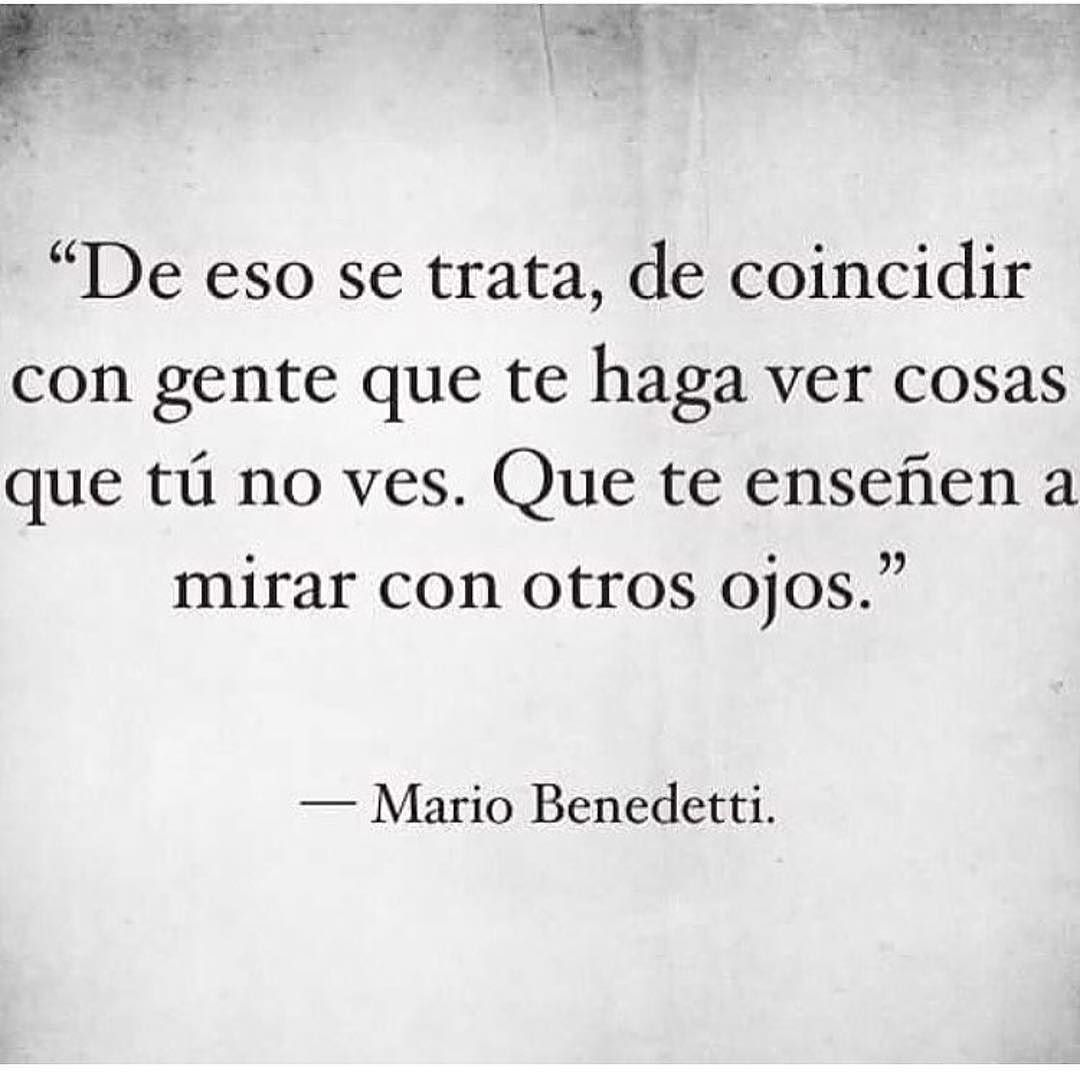 frases amor and mario benedetti image on We Heart It