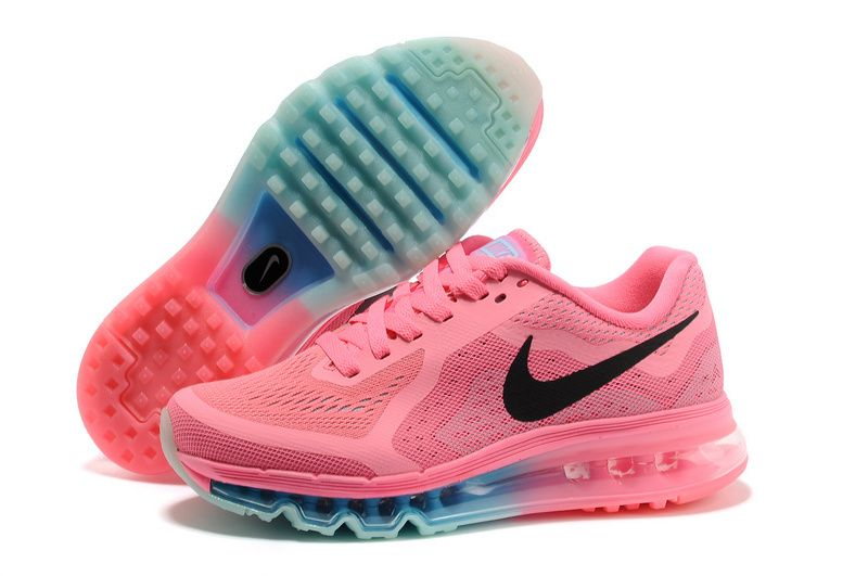 online store a2e44 cb834 Pink Black Jade Nike Air Max 2014 Women s Running Shoes I would be so dang  happy if these showed up in my closet one day!  Womens Nikes