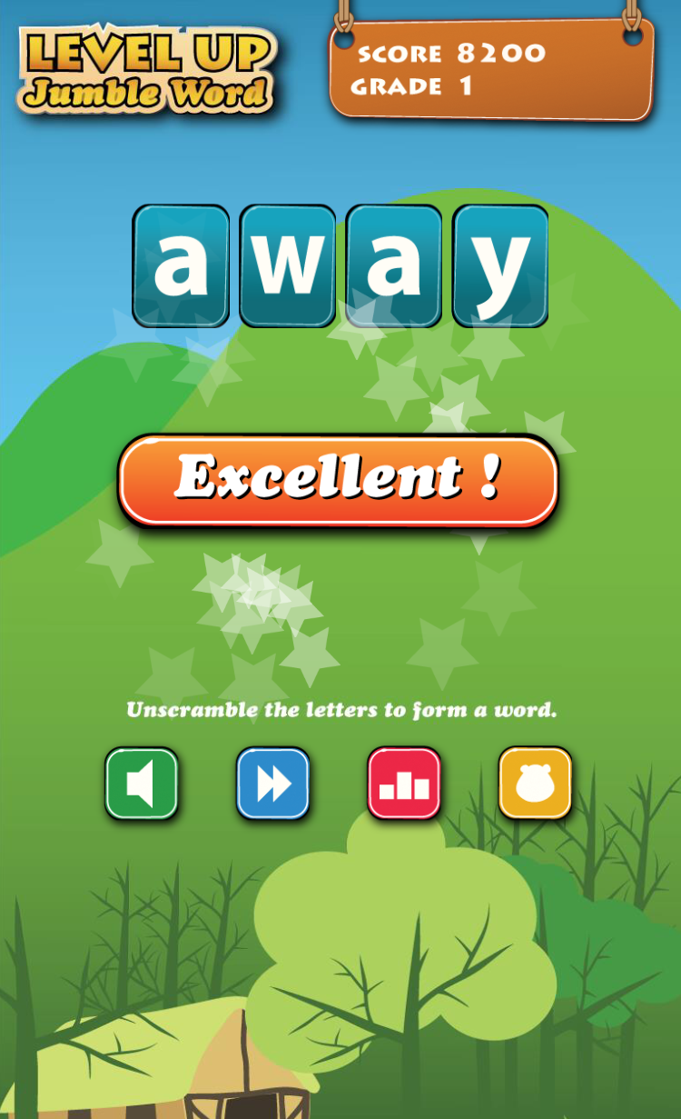 The Goal Of The Game Is To Form Words With 2 To 6 Letters By Using