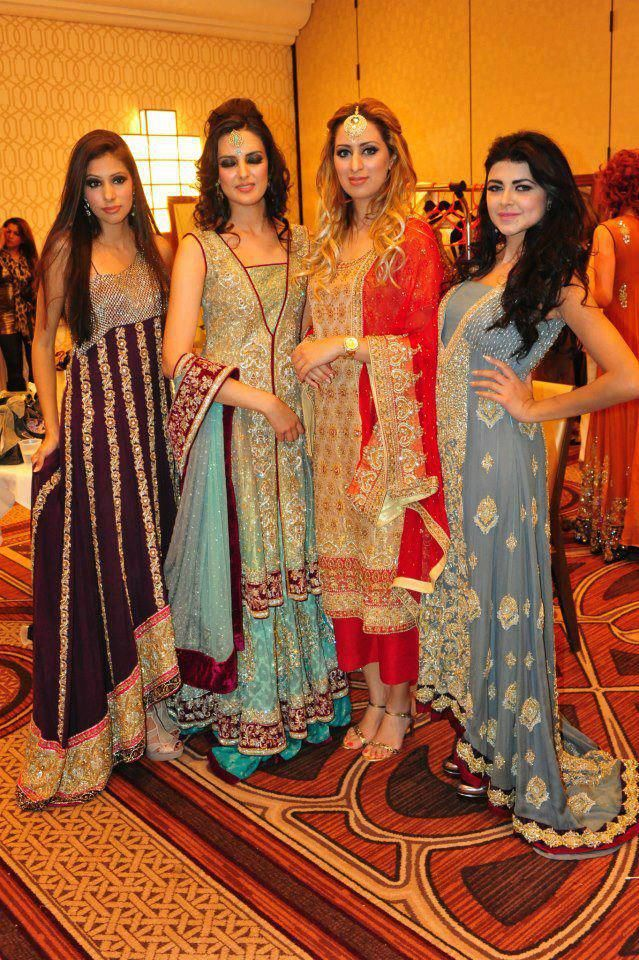 Pakistani Wedding Dresses for Brides Sisters and Friends
