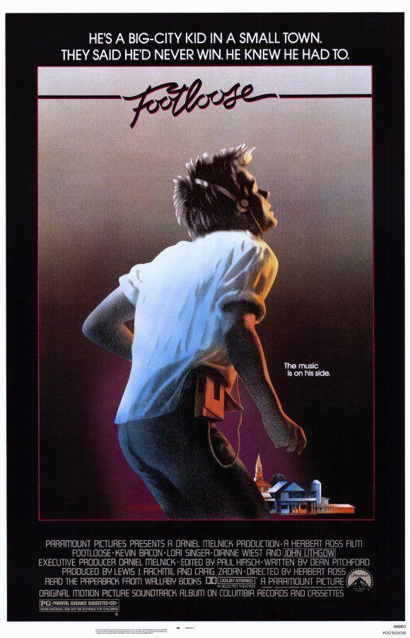 Footloose Movie Posters At Moviegoods Com Film Musicali Film Classici Locandine Di Film