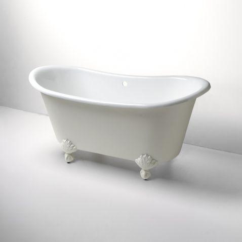 402 Kid S Bath Tub Candide Freestanding Oval Cast Iron Bathtub