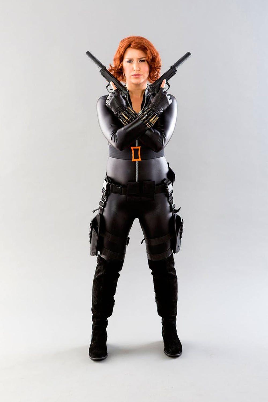 black widow diy costume ideas
