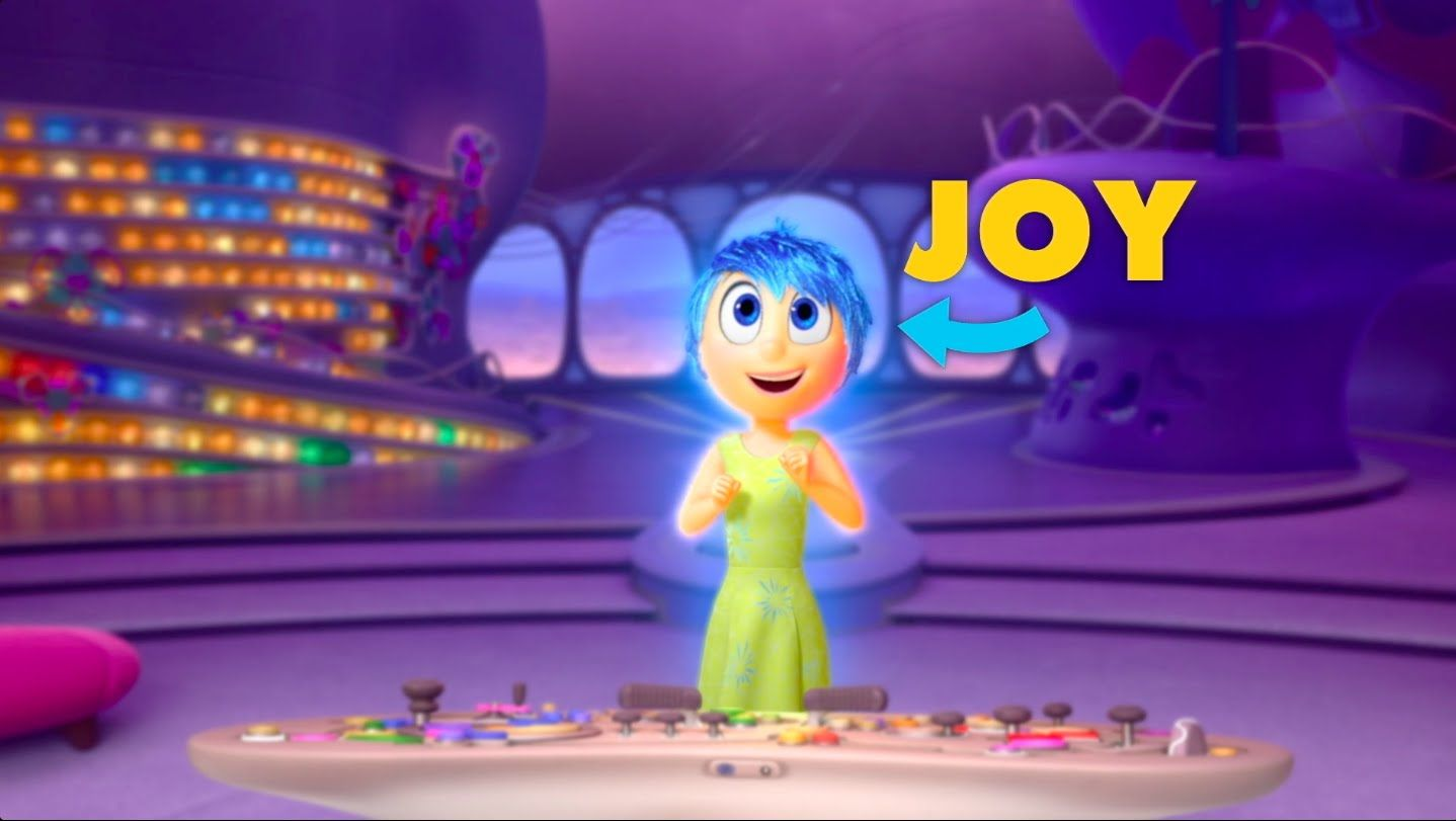 Get To Know Your Inside Out Emotions Joy