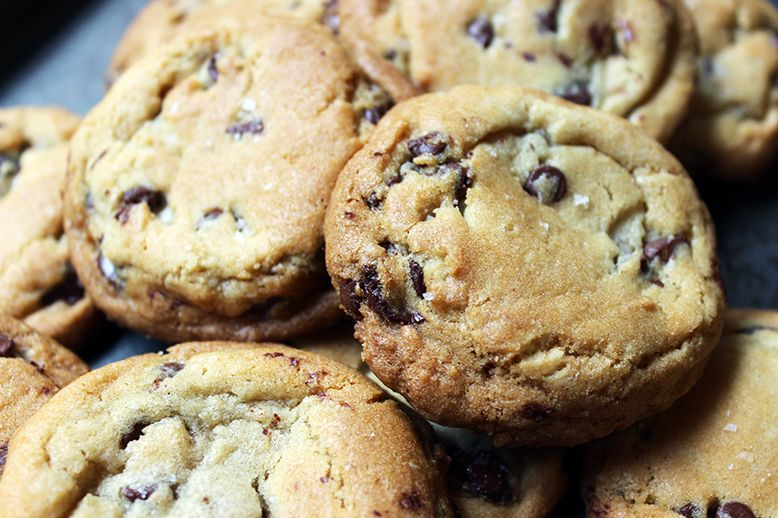 Jacques Torres Chocolate Chip Cookies - These may be some high maintenance cookies, but you will NEVER taste a better cookie. EVER. Really, EVER.