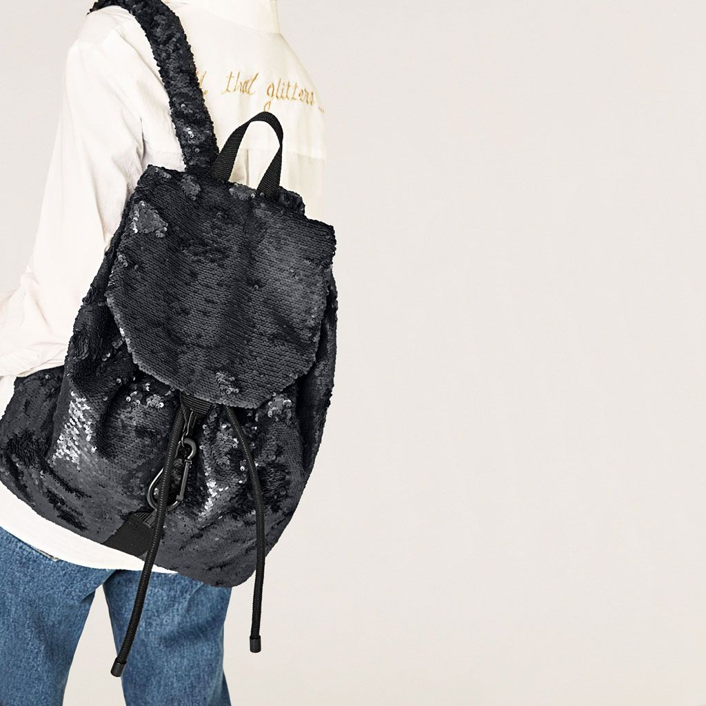 Image 1 of SEQUINNED BACKPACK from Zara