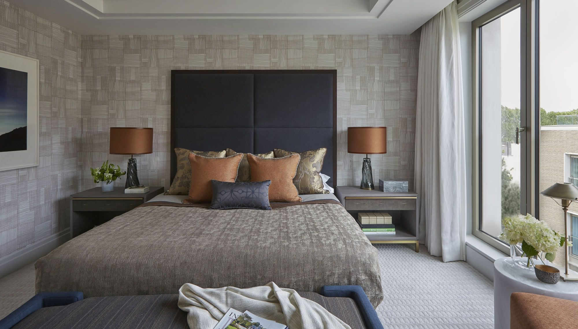 Helen Green - Lateral Apartment, Belgravia | dormitorio | Pinterest ...