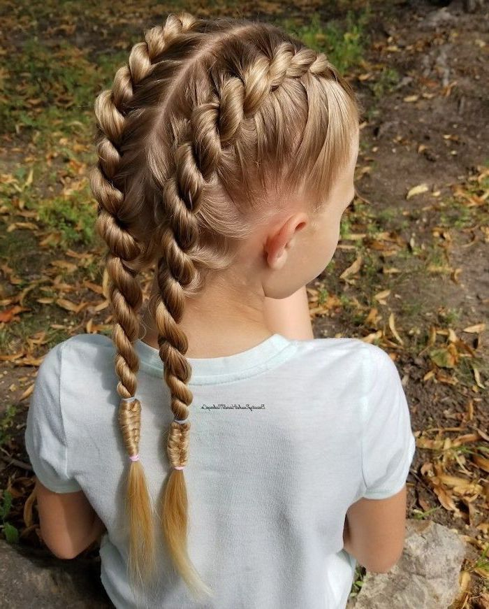 Braids For Kids Flawless Braided Hair For Little Girls Little Girl Hairstyles Easy Little Girl Hairstyles Girls Hairstyles Easy