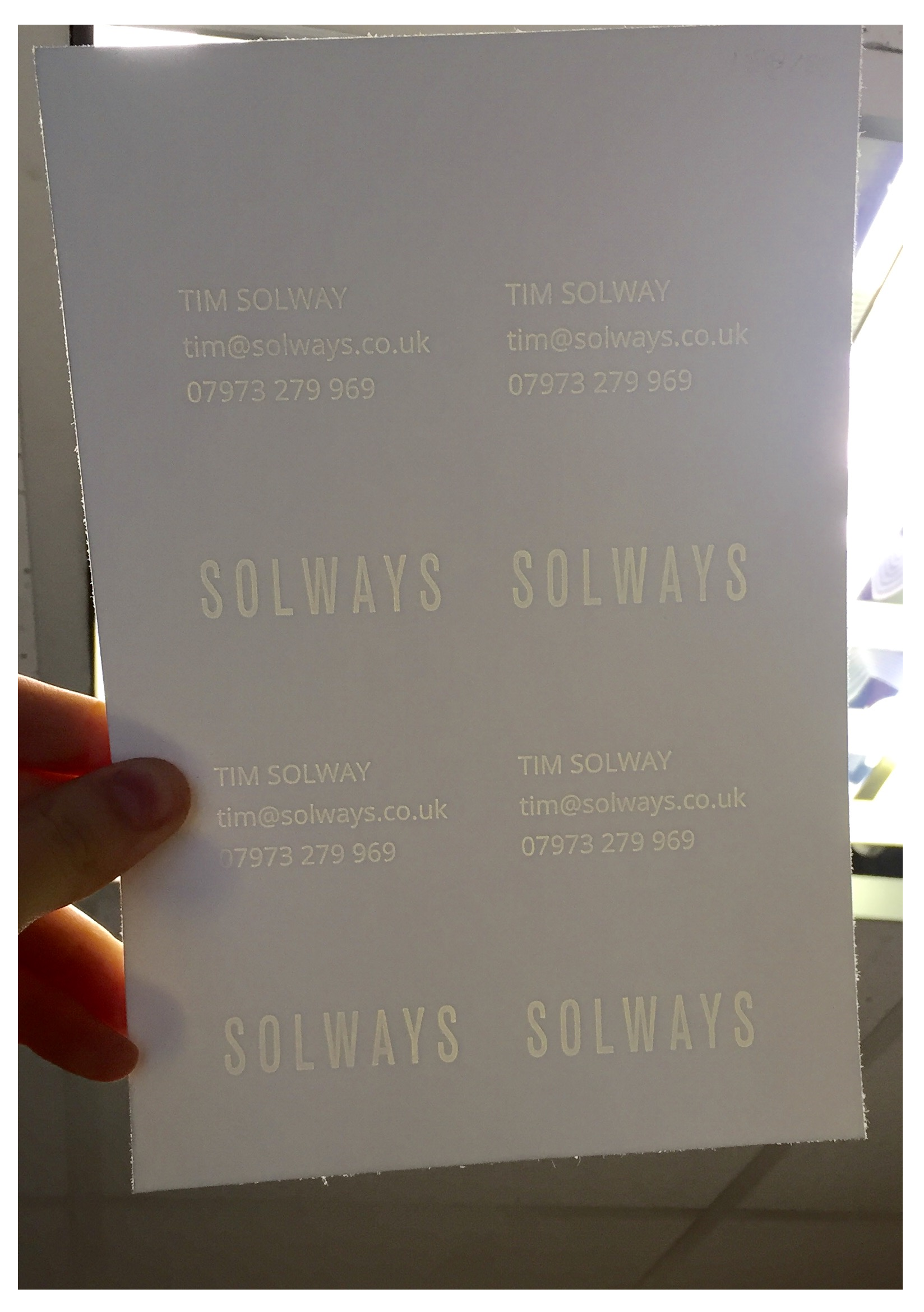 Luxury bespoke thick watermarked business cards solways quality luxury bespoke thick watermarked business cards solways quality printing london reheart Choice Image