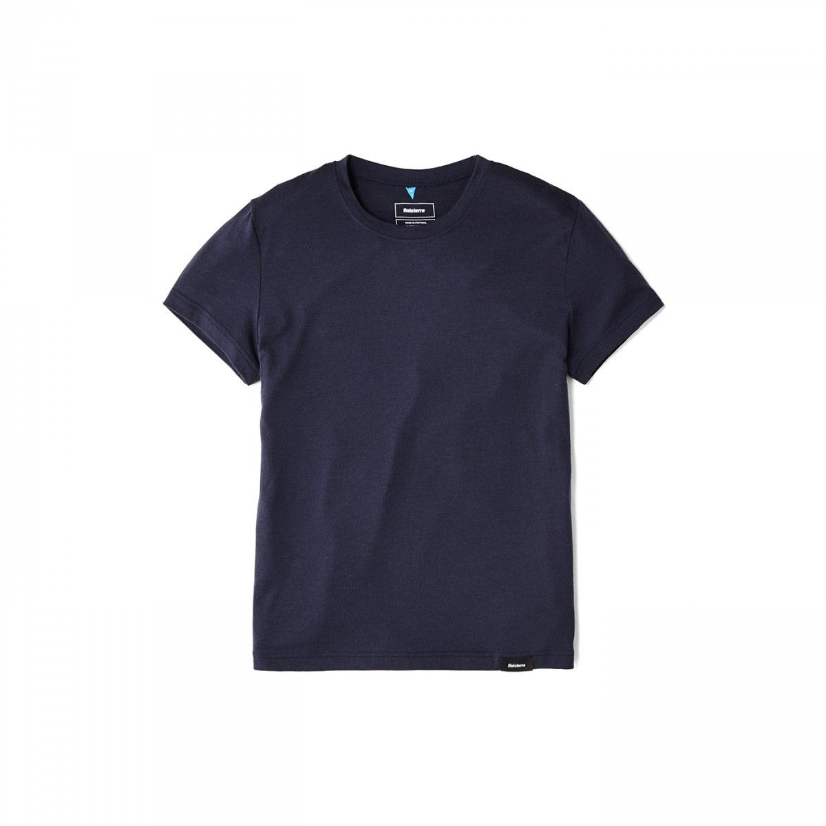Eddy Short Sleeve Navy | Finisterre