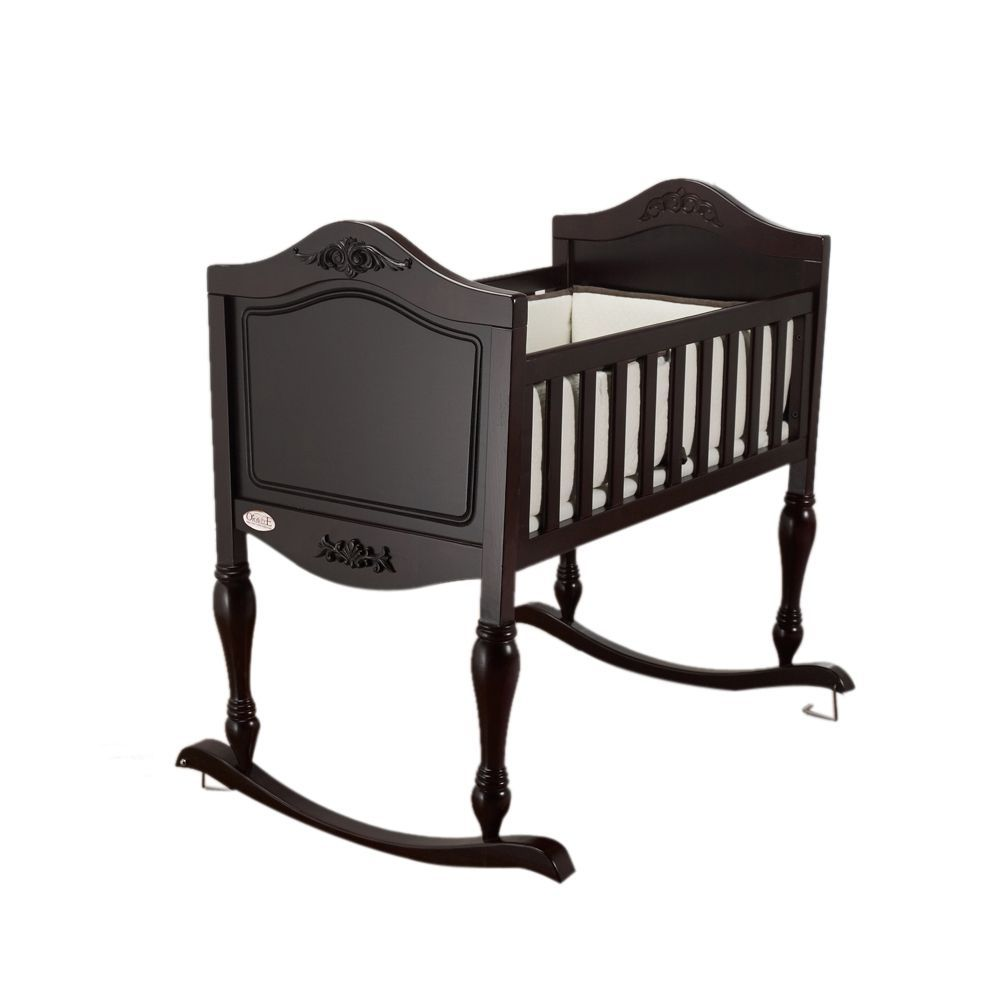 Orbelle Espresso Ga Ga Cradle Goodies for Baby Hamilton