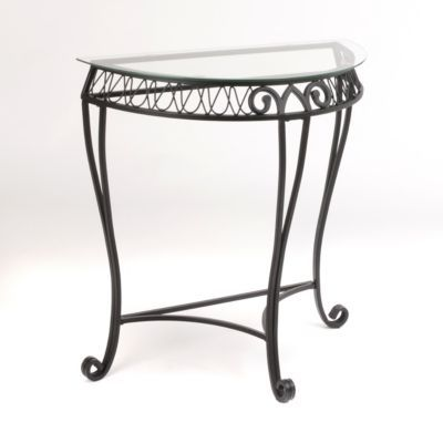 Demilune Loop Console Table Console Table Half Moon Console