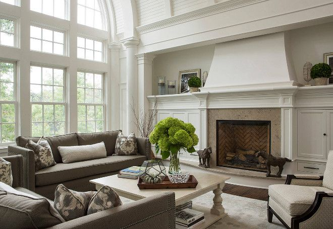 Fireplace Millwork. Fireplace Millwork and cabinet. Fireplace Millwork. Fireplace Millwork. Fireplace Millwork #Fireplace #Millwork The Sitting Room