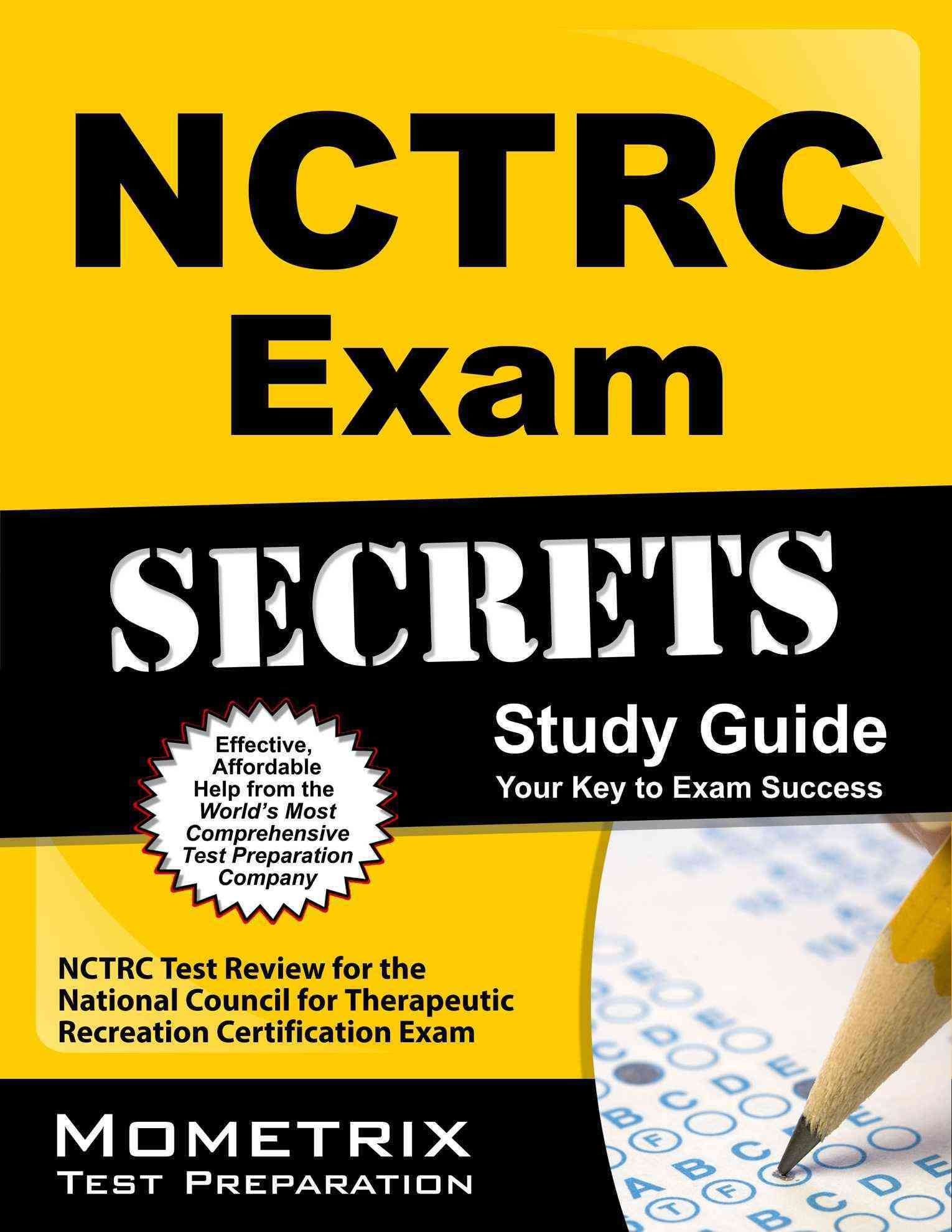 Nctrc Exam Secrets Study Guide Practice Review For The National