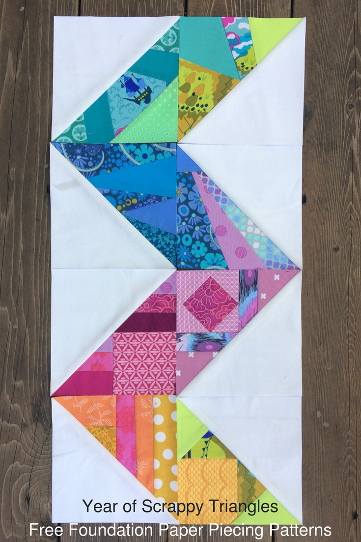 52 Free Foundation Paper Pieced Patterns For Scrappy Half Square Triangles Great For Using Up Fabric S Paper Piecing Quilts Paper Quilt Paper Piecing Patterns