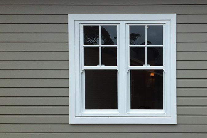Colonial Style Windows Aluminium Double Hung Colonial