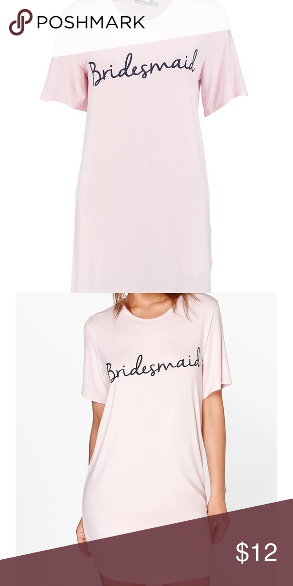 3311f3d4b2 Bridesmaid nightie! Brand new! Boohoo bridesmaids nightie! Brand new! I  have four size 6 and and two size 8 available. Boohoo Intimates   Sleepwear  Pajamas