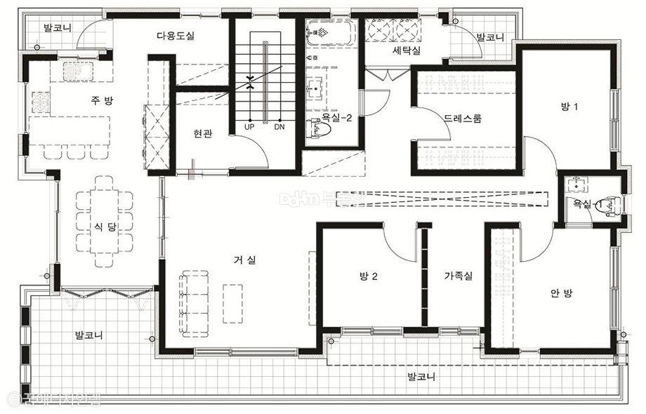 평범한 주택은 가라 제주를 품은 모던주택 Daum 부동산 인테리어 주택평면도 아파트 평면도 모던 주택