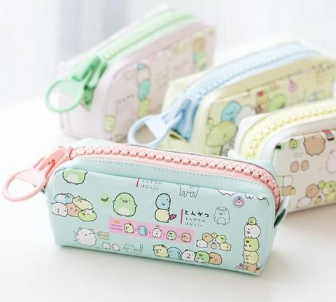 Pencil Bag Case Desk Organizer Storage Bag Fruit Cute Lovely Pen Case School