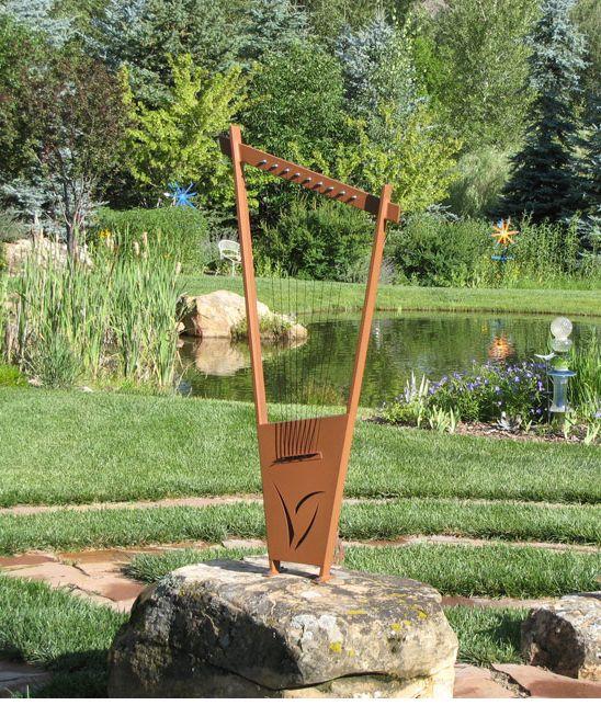 Outdoor harp
