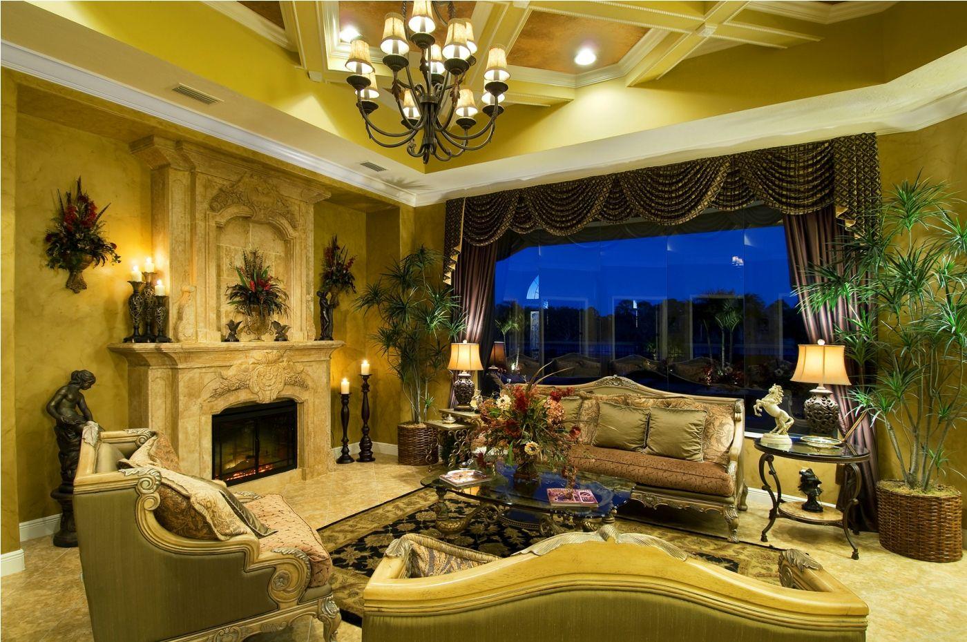 Decor Interior Decorator Chandelier Table Lamp Decorative Plants ...