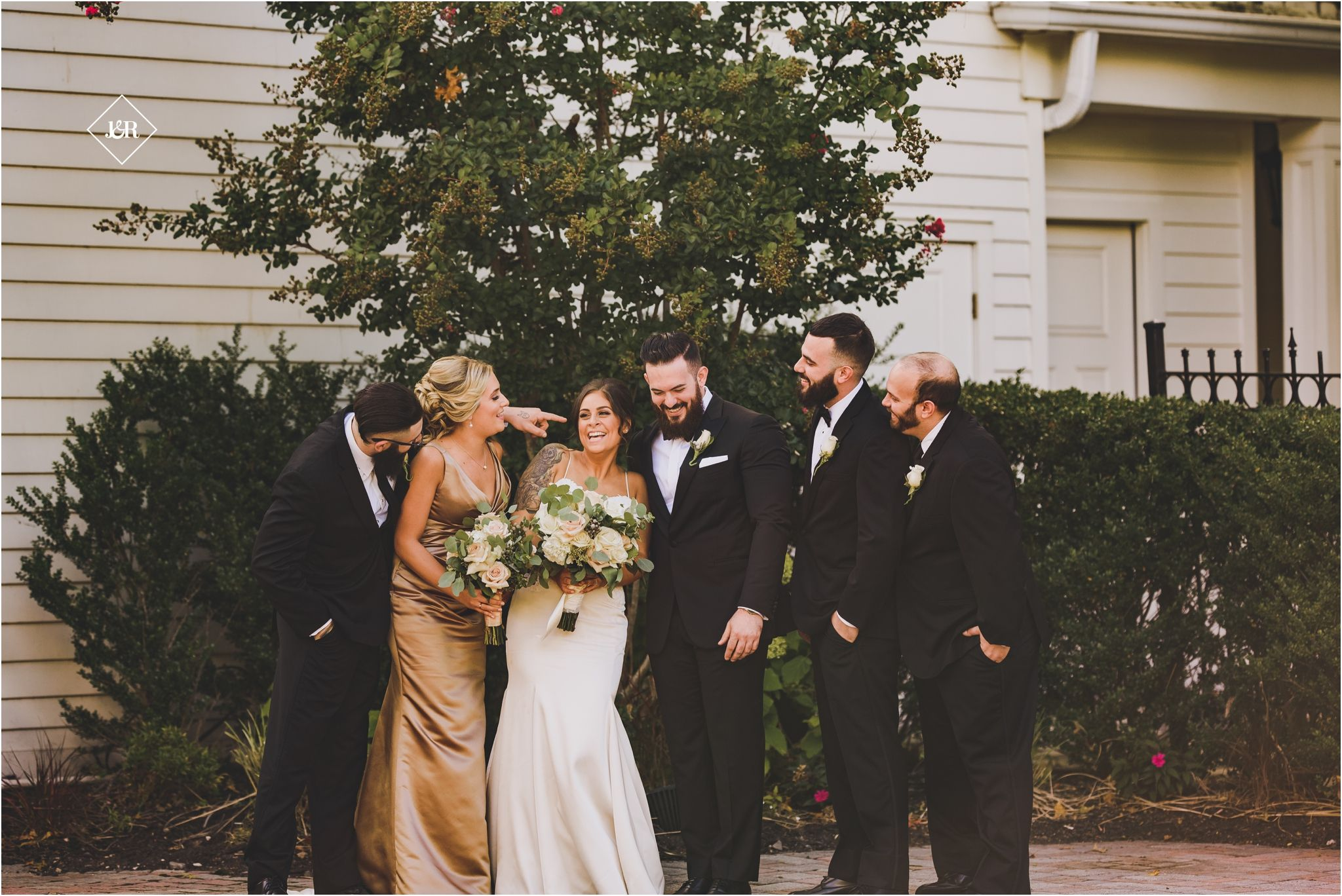 Grand oaks country club wedding bridal party jrphotony