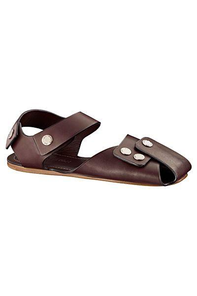 shoes, Mens leather sandals