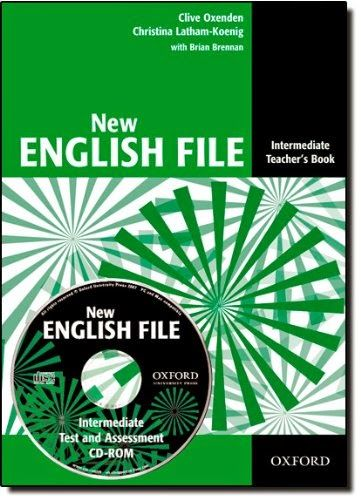 New English File Intermediate Teacher S Book Teacher Books English File Fun Lessons