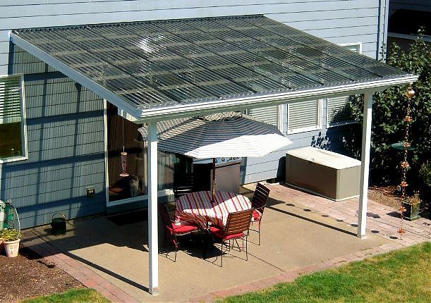 Suntuf Patio Cover Corvallis At Tntbuildersinc Com In