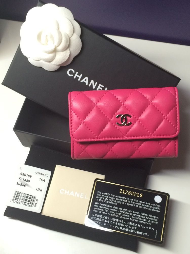 Chanel card holder | Favorite Things | Pinterest | Flat lay, Bag ...