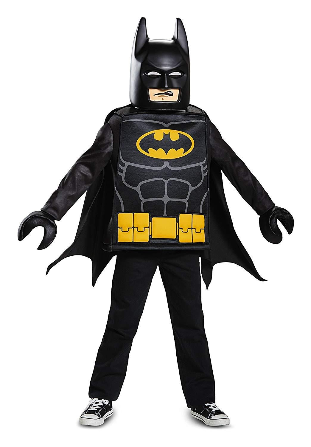 Boys Batman Lego Movie Kids Costume Disfraz batman
